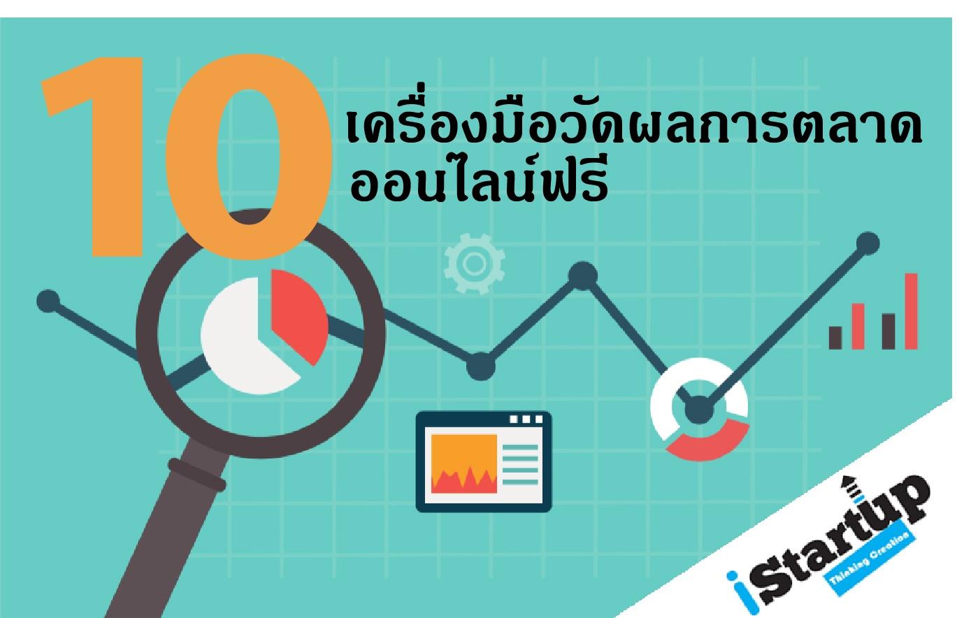 10 เครื่องมือวัดผลการตลาดออนไลน์ฟรี